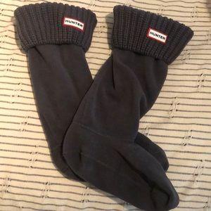 Hunter boot sock insert. Never worn